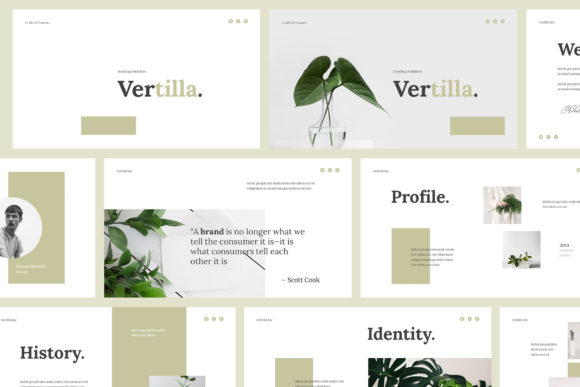 Download Free Vertilla Brand Guideline Googleslide Graphic By Giant Design for Cricut Explore, Silhouette and other cutting machines.