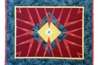 Victoria Crystal Quilt Pattern Graphic Quilt Patterns By dena.dale.crain