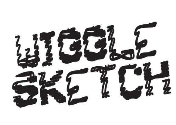 Print on Demand: Wiggle Sketch Display Font By GraphicsBam Fonts