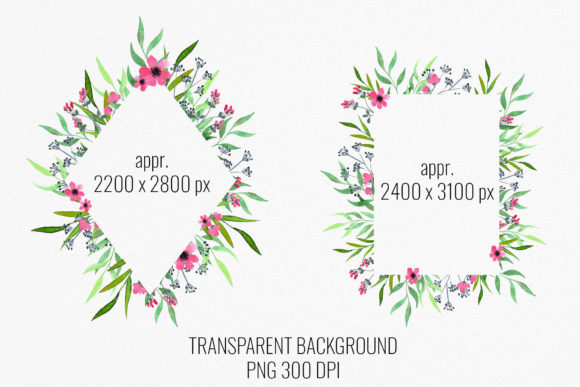 Download Free Wild Meadow Flowers Frames Borders Graphic By Reddotshouse for Cricut Explore, Silhouette and other cutting machines.