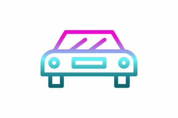 Download Free Car Rainbow Coloring Icon Graphic By Astuti Julia93 Gmail Com for Cricut Explore, Silhouette and other cutting machines.