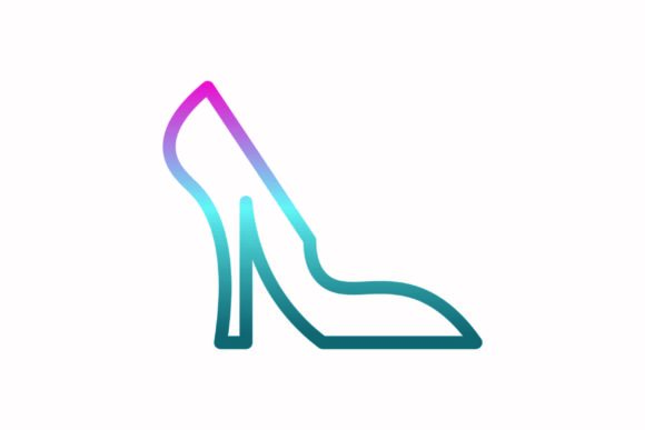 Download Free Shoe Rainbow Coloring Icon Graphic By Astuti Julia93 Gmail Com for Cricut Explore, Silhouette and other cutting machines.