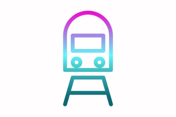 Download Free Train Rainbow Coloring Icon Graphic By Astuti Julia93 Gmail Com for Cricut Explore, Silhouette and other cutting machines.