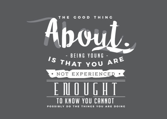 Download Free You Are Not Experienced Enough Graphic By Baraeiji Creative for Cricut Explore, Silhouette and other cutting machines.