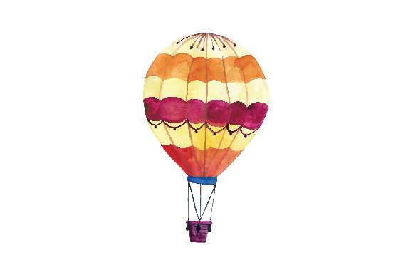 Hot Air Balloon Svg Cut File By Creative Fabrica Crafts