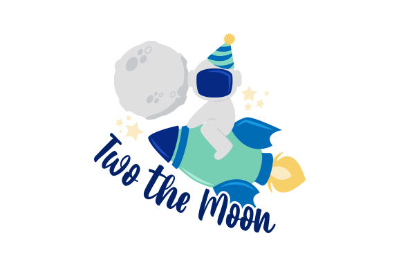 Download Free Two The Moon Svg Cut File By Creative Fabrica Crafts Creative for Cricut Explore, Silhouette and other cutting machines.