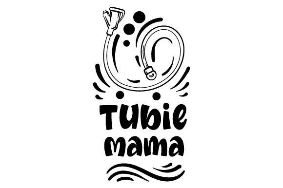 Download Free Tubie Mama Svg Cut File By Creative Fabrica Crafts Creative for Cricut Explore, Silhouette and other cutting machines.