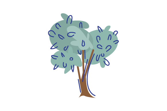 Download Free Tree Illustrion Svg Cut File By Creative Fabrica Crafts for Cricut Explore, Silhouette and other cutting machines.