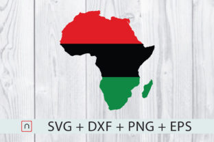 Download Free Africa Map Flag Graphic By Novalia Creative Fabrica for Cricut Explore, Silhouette and other cutting machines.