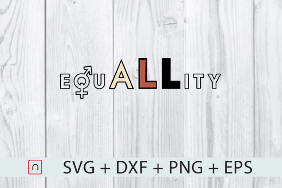 Download Free All Races Equal Rights Graphic By Novalia Creative Fabrica for Cricut Explore, Silhouette and other cutting machines.
