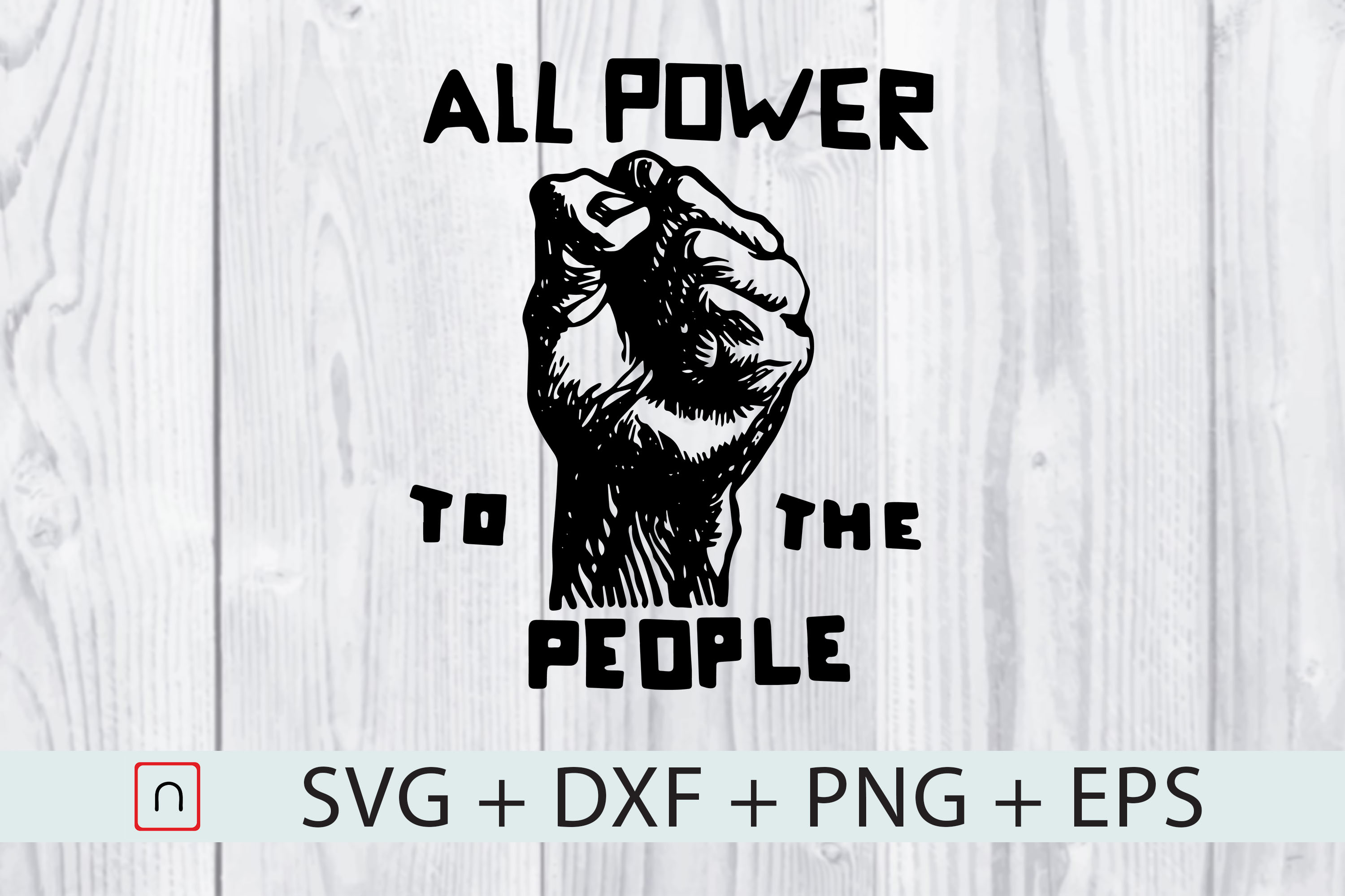 All Power To The People Graphic By Novalia Creative Fabrica
