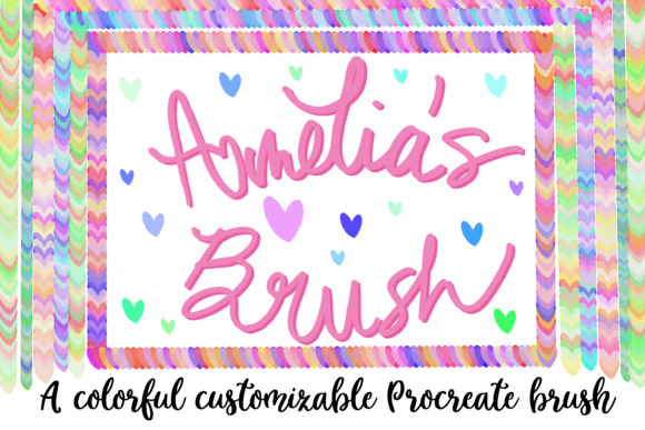 Download Free 1 Amelia S Brush Designs Graphics for Cricut Explore, Silhouette and other cutting machines.