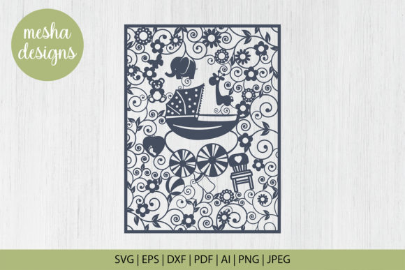 Download Free Hot Air Balloon Paper Cut Template Graphic By Diycuttingfiles for Cricut Explore, Silhouette and other cutting machines.
