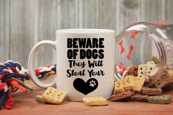 Download Free Beware Of Dogs Cut File Graphic By Oldmarketdesigns Creative Fabrica for Cricut Explore, Silhouette and other cutting machines.