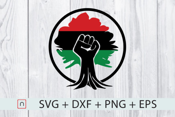 Download Free Black Fist Flag Root Graphic By Novalia Creative Fabrica for Cricut Explore, Silhouette and other cutting machines.