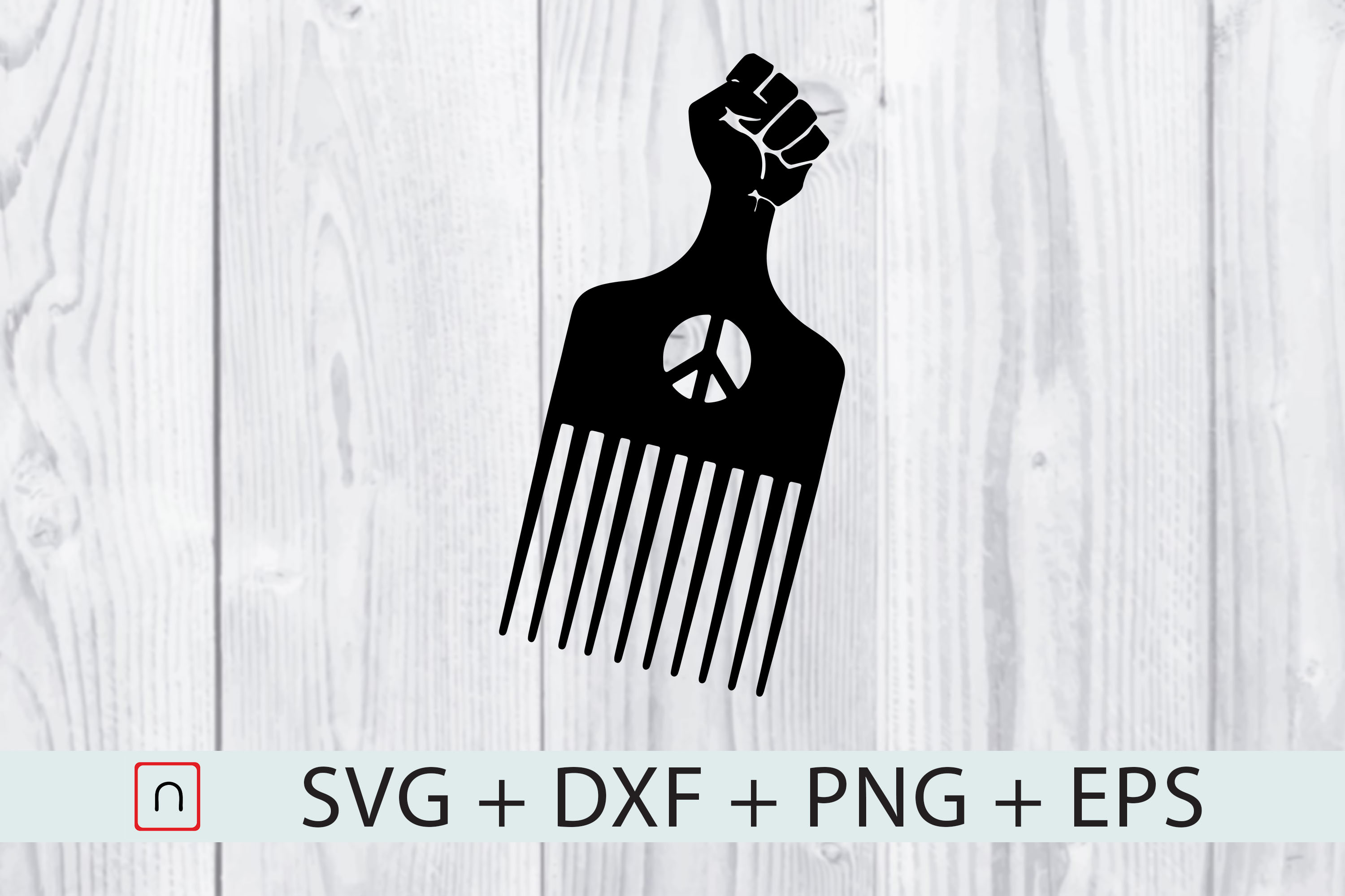 Download Free Comb Black Fist Proud Graphic By Novalia Creative Fabrica for Cricut Explore, Silhouette and other cutting machines.