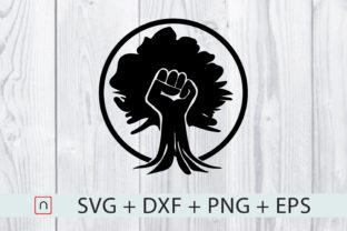 Download Free Black Fist Root Graphic By Novalia Creative Fabrica for Cricut Explore, Silhouette and other cutting machines.
