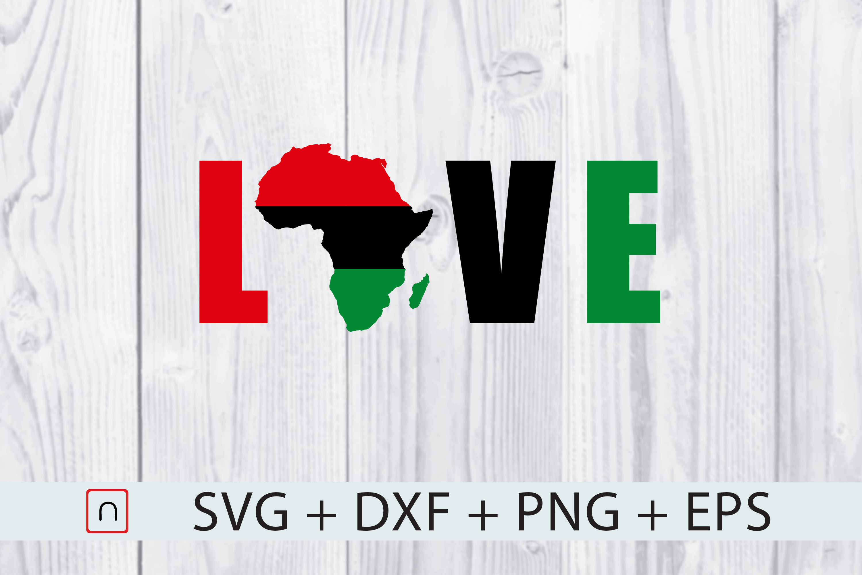Download Free Africa Flag Map Love Graphic By Novalia Creative Fabrica for Cricut Explore, Silhouette and other cutting machines.