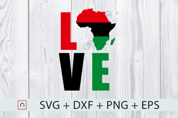 Download Free Flag Map Africa Love Graphic By Novalia Creative Fabrica for Cricut Explore, Silhouette and other cutting machines.
