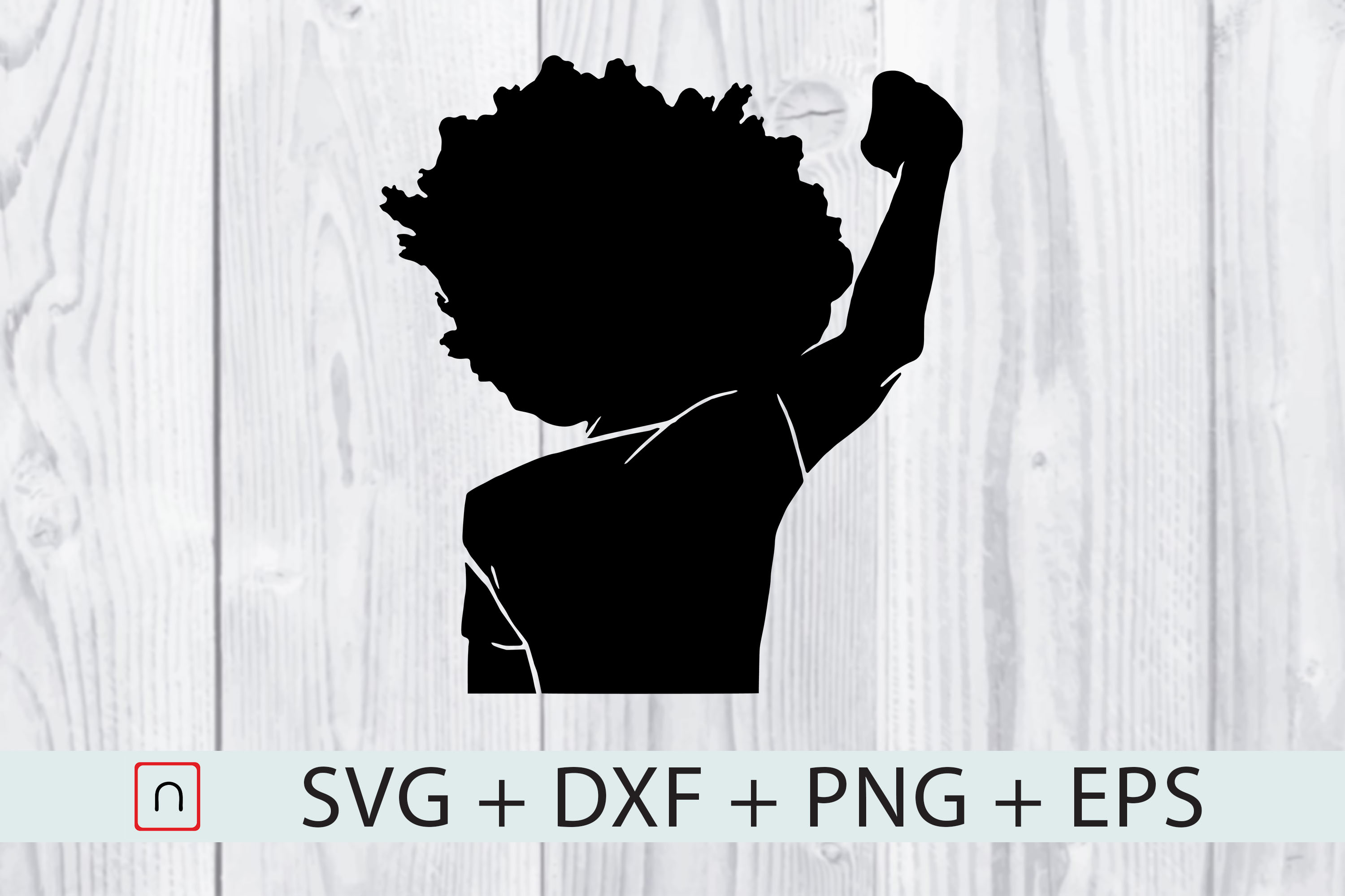 Download Free Black Man Fist Proud Graphic By Novalia Creative Fabrica for Cricut Explore, Silhouette and other cutting machines.