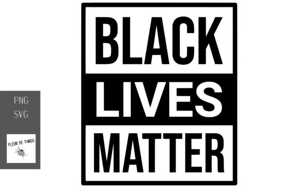 Print on Demand: Black Lives Matter 1 Graphic Print Templates By Fleur de Tango