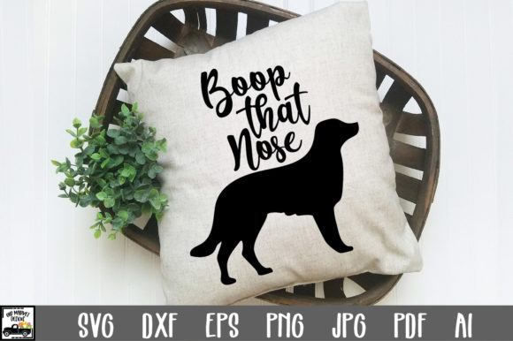 Download Free Boop That Nose Cut File Graphic By Oldmarketdesigns Creative for Cricut Explore, Silhouette and other cutting machines.