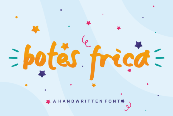 Print on Demand: Botes Frica Script & Handwritten Font By Azetype