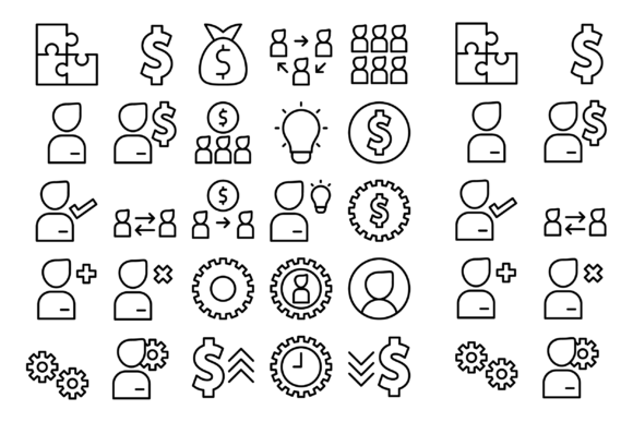 Download Free Business And Works Graphic By Designvector10 Creative Fabrica for Cricut Explore, Silhouette and other cutting machines.