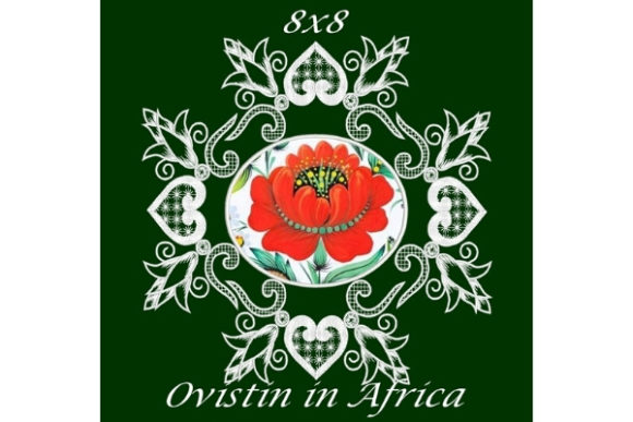Cute Floral Satin Applique Quilt Block Sewing & Crafts Embroidery Design By Ovistin in Africa