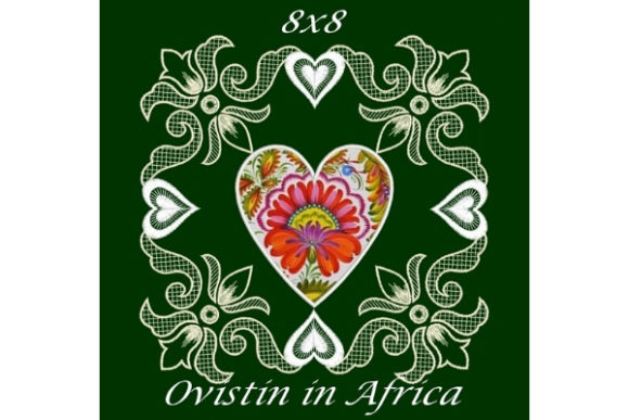 Cute Hearts Satin Applique Quilt Block Sewing & Crafts Embroidery Design By Ovistin in Africa