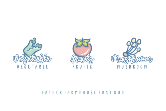 Print on Demand: Father Farmhouse Script & Handwritten Font By Azetype - Image 3