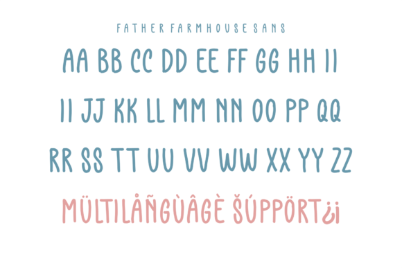 Print on Demand: Father Farmhouse Script & Handwritten Font By Azetype - Image 6