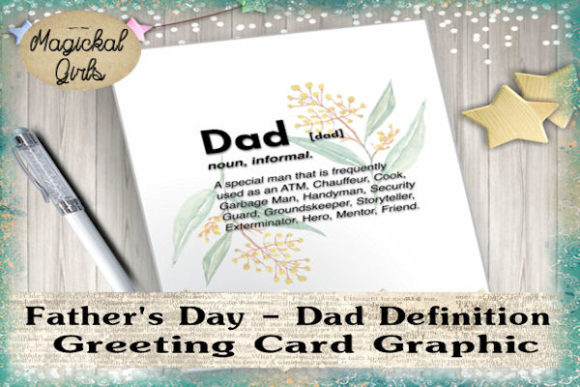 Download Free Father S Day Scottish Gaelic Card Graphic By Magickal Girls for Cricut Explore, Silhouette and other cutting machines.