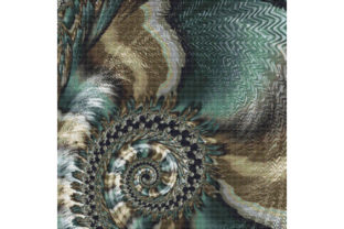 Download Free Fractal Cross Stitch Pattern Spiral Graphic By Stitchx Designs for Cricut Explore, Silhouette and other cutting machines.