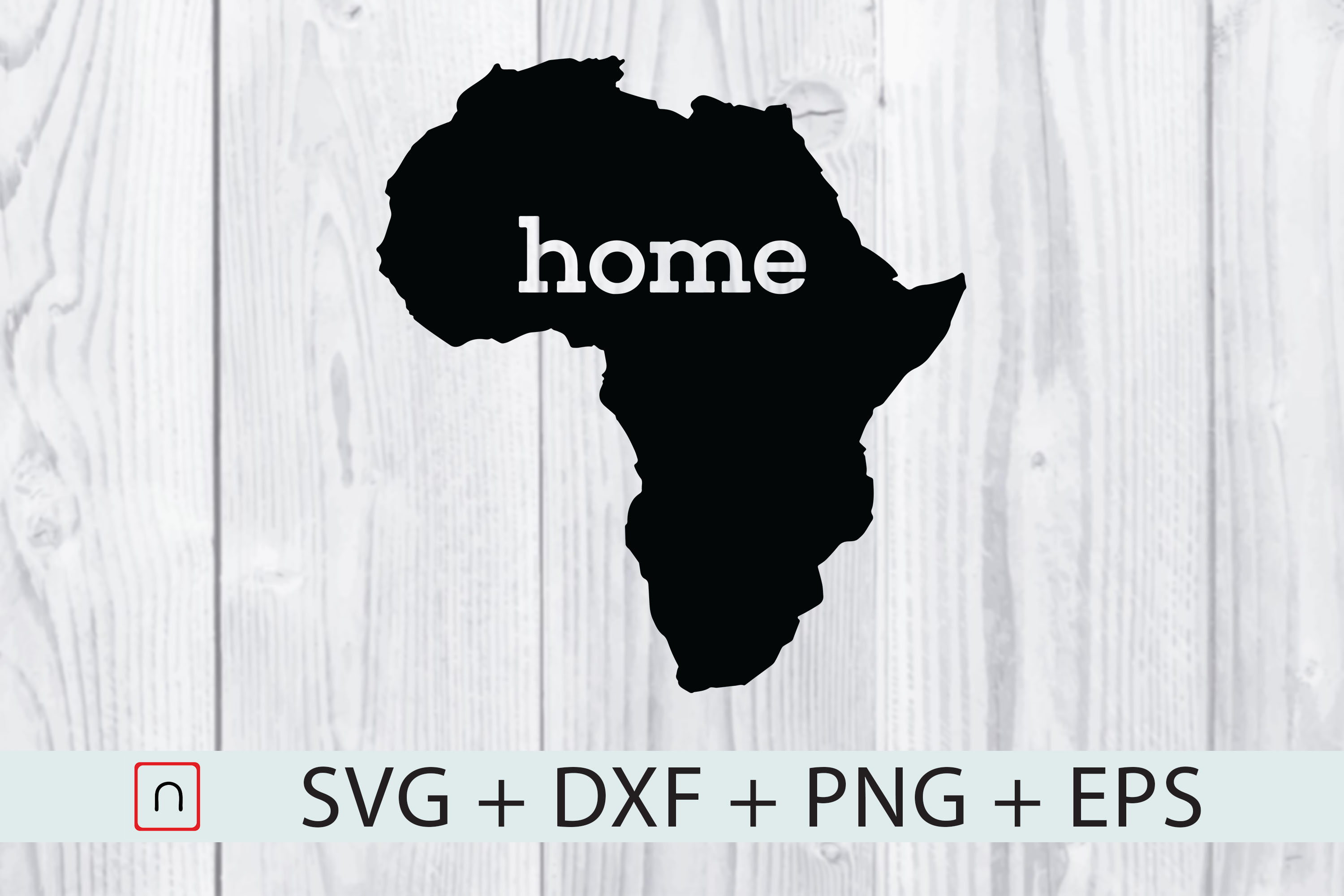 Download Free Home Africa Map Graphic By Novalia Creative Fabrica SVG Cut Files