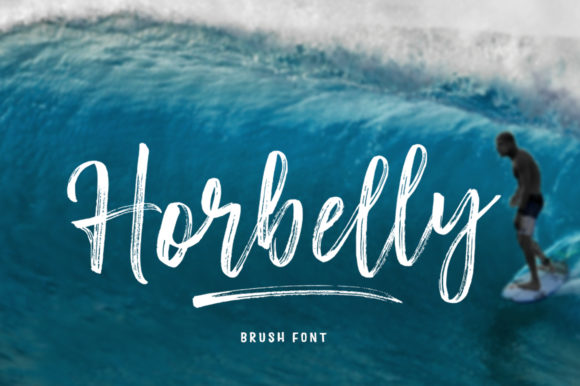 Print on Demand: Horbelly Script & Handwritten Font By Stripes Studio