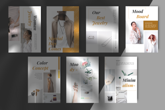 Download Free Intza Luxury Powerpoint Brand Guidelines Graphic By Masdikastudio Creative Fabrica for Cricut Explore, Silhouette and other cutting machines.