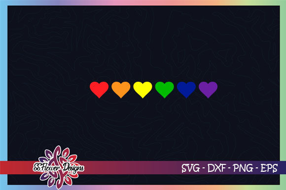 Download Free Lgbt Heart Equality Graphic By Ssflower Creative Fabrica for Cricut Explore, Silhouette and other cutting machines.