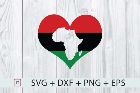 Download Free Love Africa Flag Map Graphic By Novalia Creative Fabrica for Cricut Explore, Silhouette and other cutting machines.