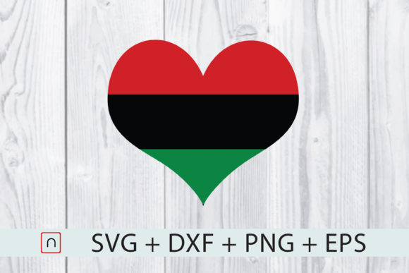 Download Free Love Africa Flag Graphic By Novalia Creative Fabrica for Cricut Explore, Silhouette and other cutting machines.