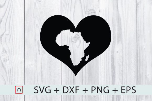 Download Free 1 Love Africa Map Designs Graphics for Cricut Explore, Silhouette and other cutting machines.