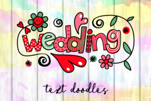 Print on Demand: Love & Marriage Wedding Text Titles Graphic Illustrations By Prawny
