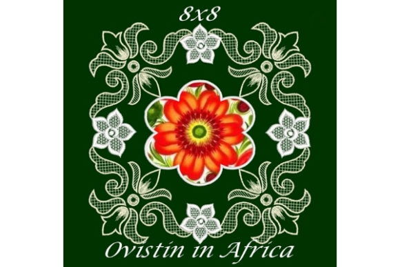 Lovely Floral Satin Applique Quilt Block Sewing & Crafts Embroidery Design By Ovistin in Africa