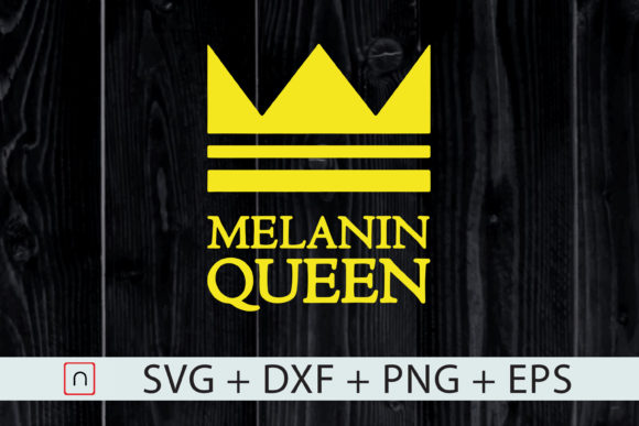 Download Free Melanin Black Queen Graphic By Novalia Creative Fabrica for Cricut Explore, Silhouette and other cutting machines.