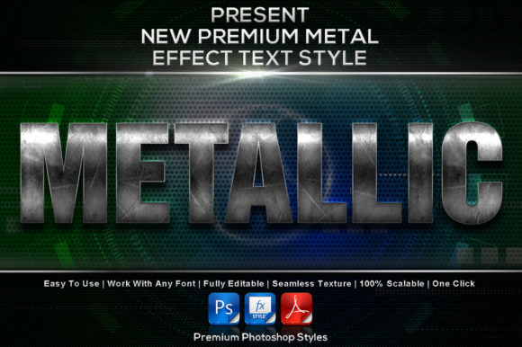 New Premium Metal Styles Graphic Add-ons By MualanaDesign