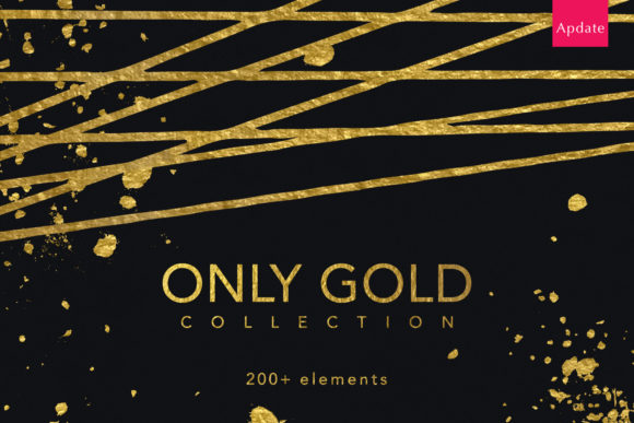 Only Gold Collection Graphic Objects By Vera Vero