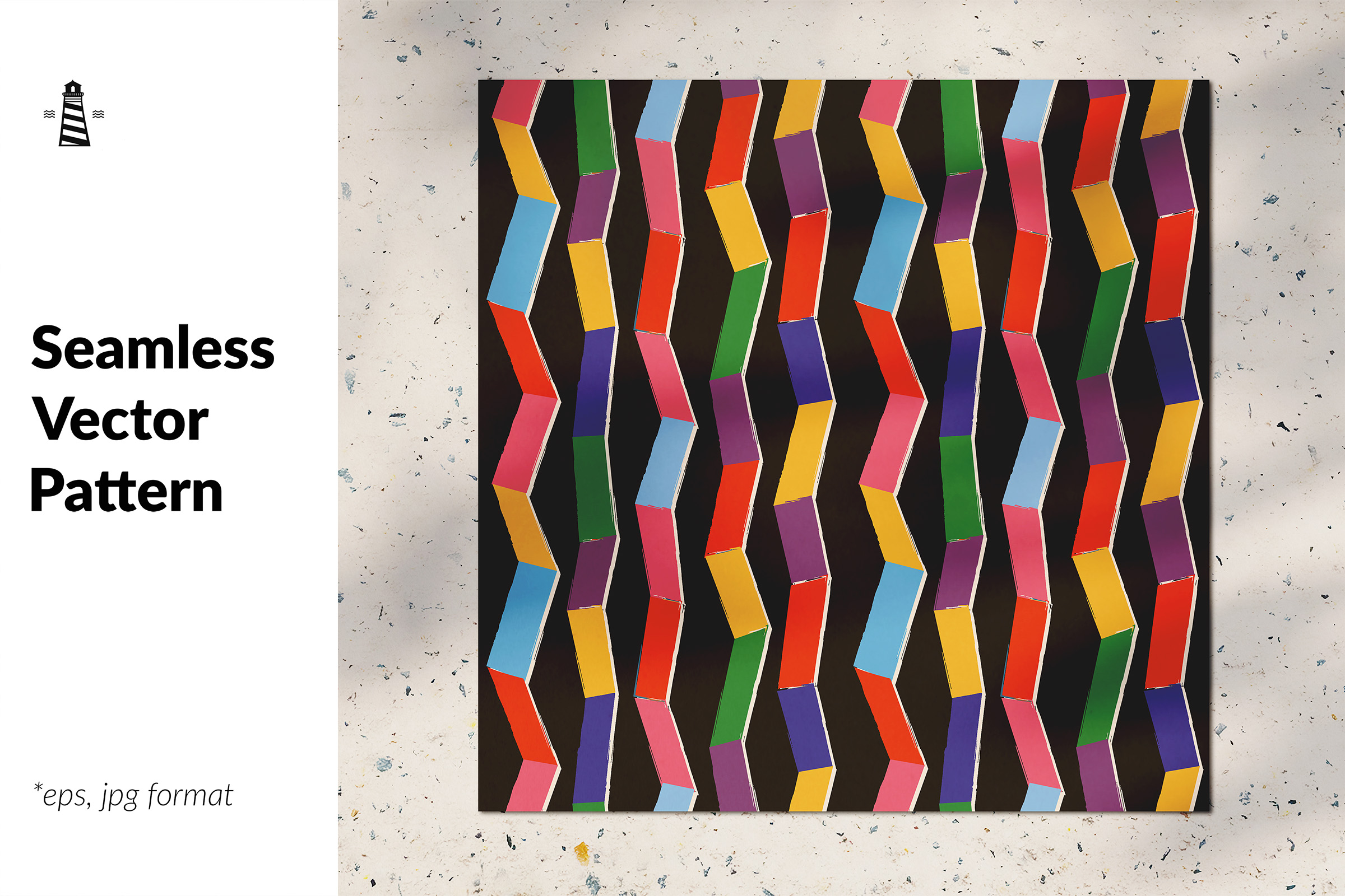 Download Free Rainbow Zig Zag Seamless Pattern Graphic By Northseastudio for Cricut Explore, Silhouette and other cutting machines.