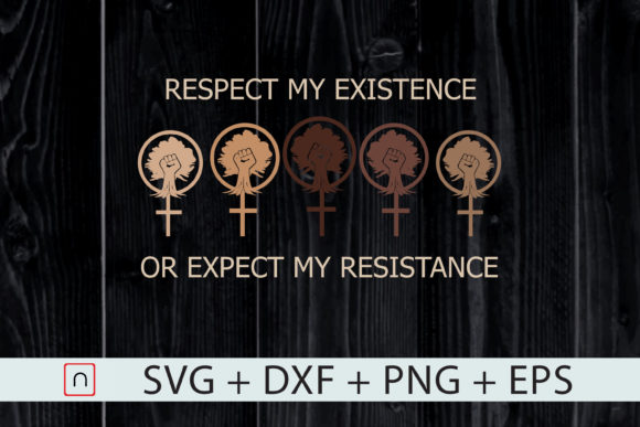 Download Free Resistance Cross Fist Respect Existence Graphic By Novalia for Cricut Explore, Silhouette and other cutting machines.
