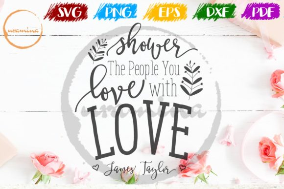 Print on Demand: Shower the People You Love with Love Graphic Crafts By Uramina
