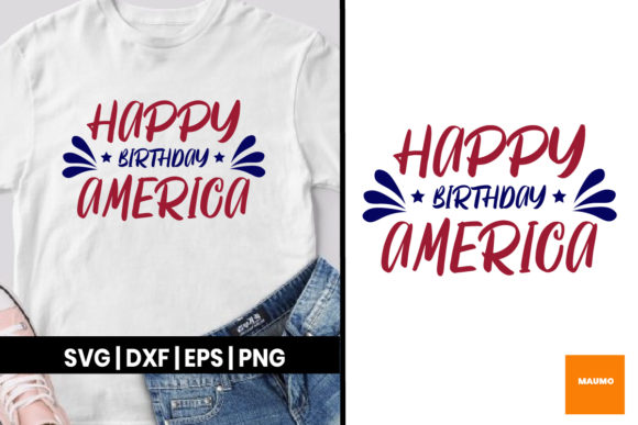 Download Free 4th Of July Graphic By Maumo Designs Creative Fabrica for Cricut Explore, Silhouette and other cutting machines.